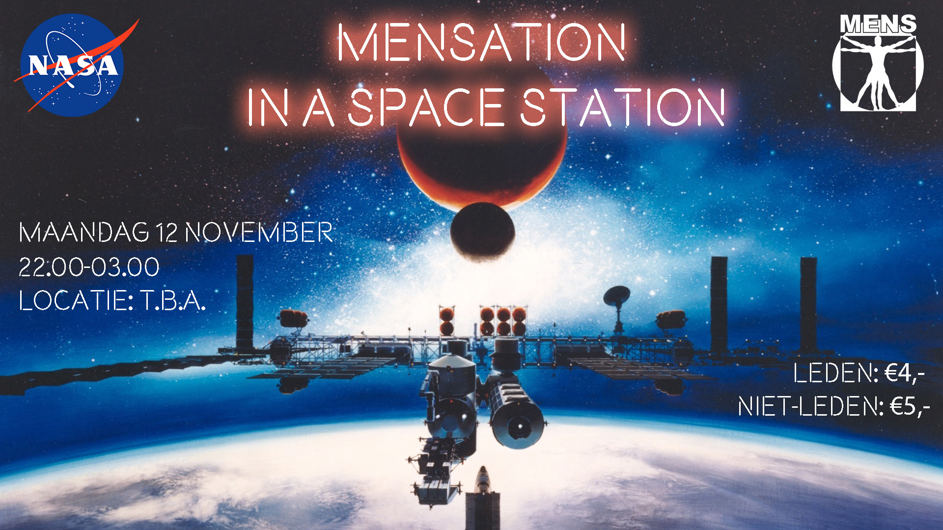 Mensation in Space Station